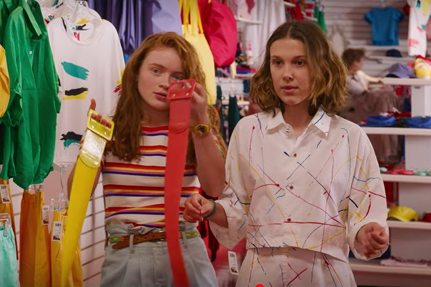 The 1980s Fashions of Stranger Things