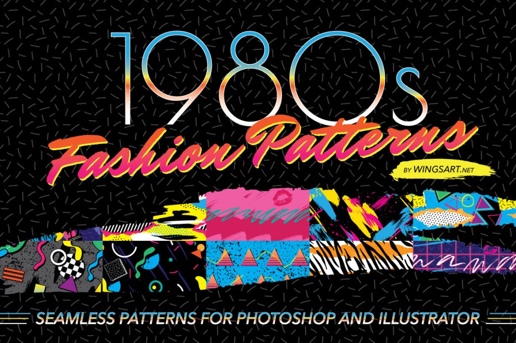 1980s Fashion Patterns Vol One