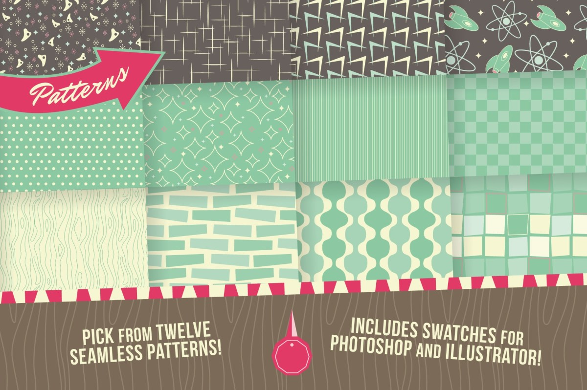 1950s Graphics Bundle