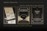 Art Deco Background and Frames Vol 1