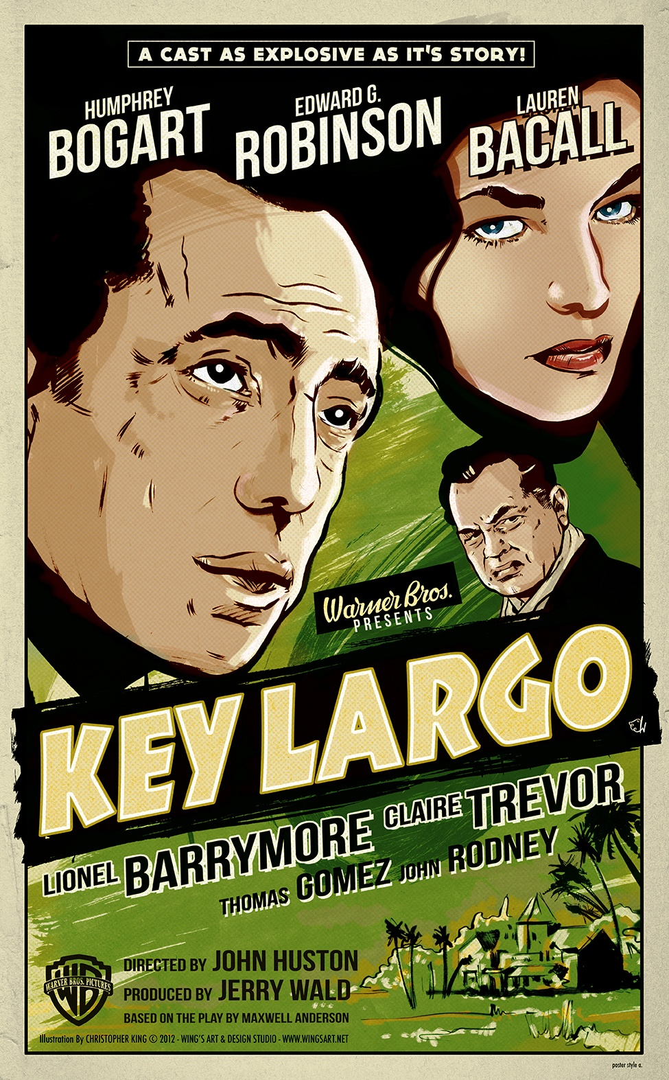 key-largo Poster by Christopher King