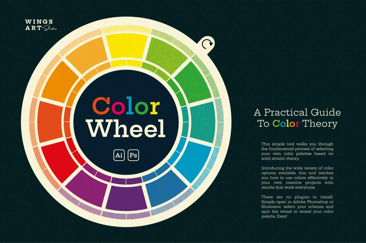 Wing's Color Wheel - Designer's Tool