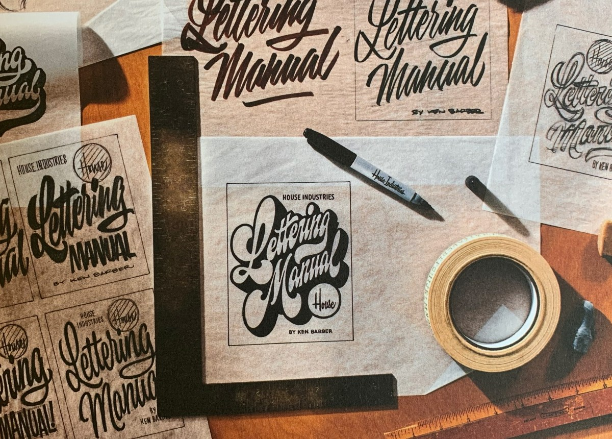 House Industries Lettering Manual by Ken Barber