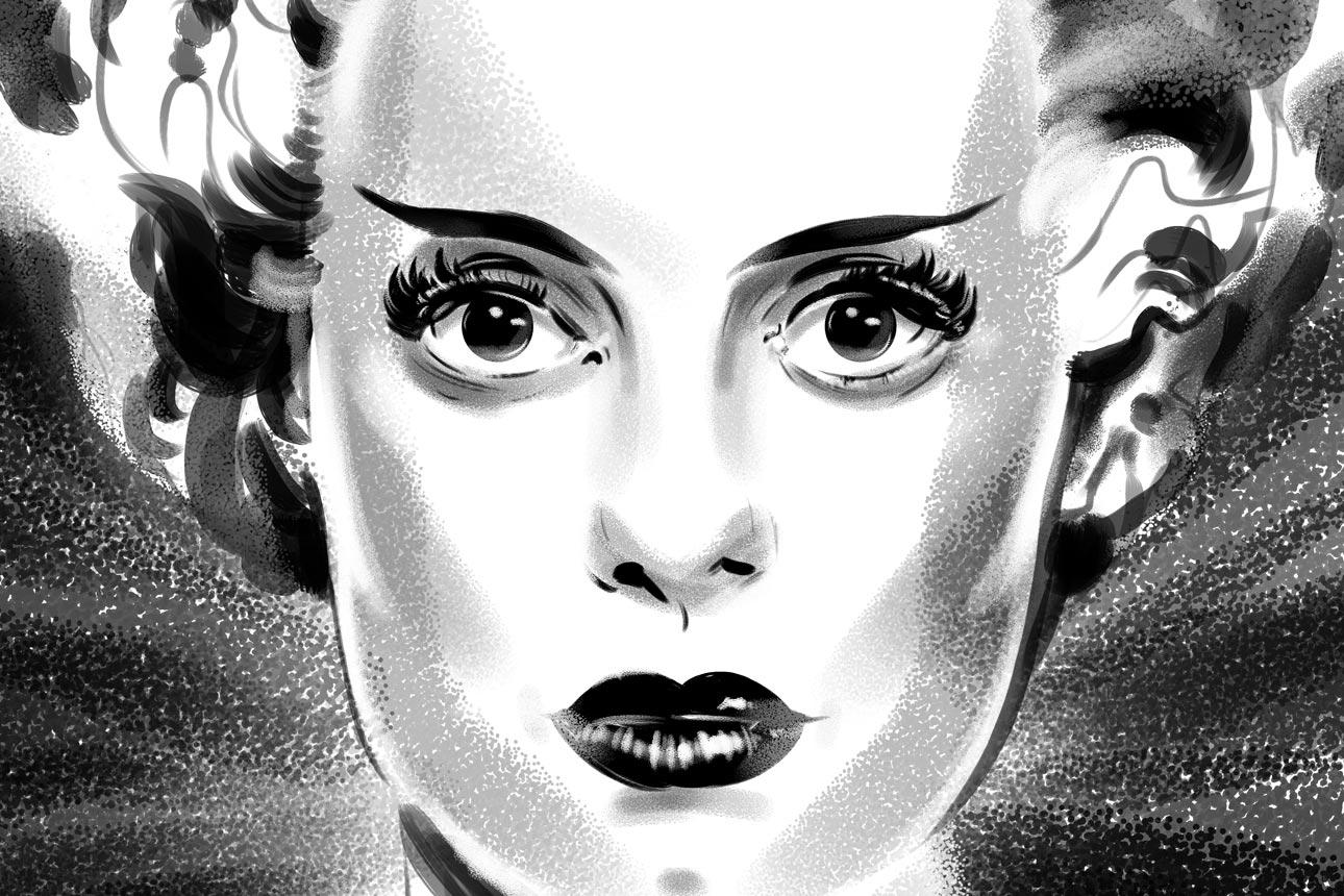 Bride of Frankenstein elsa lanchester