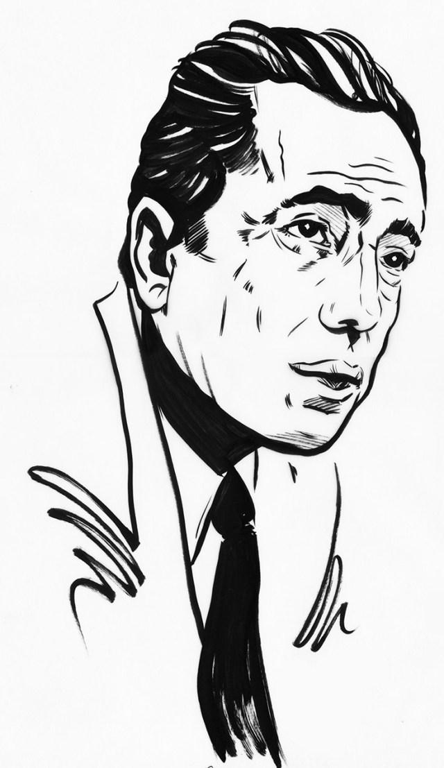 Key Largo Film Noir Movie Poster