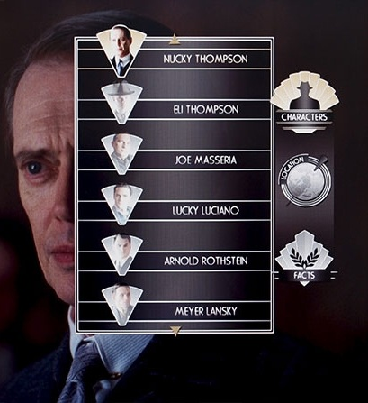 Boardwalk Empire Blu Ray Menu Design