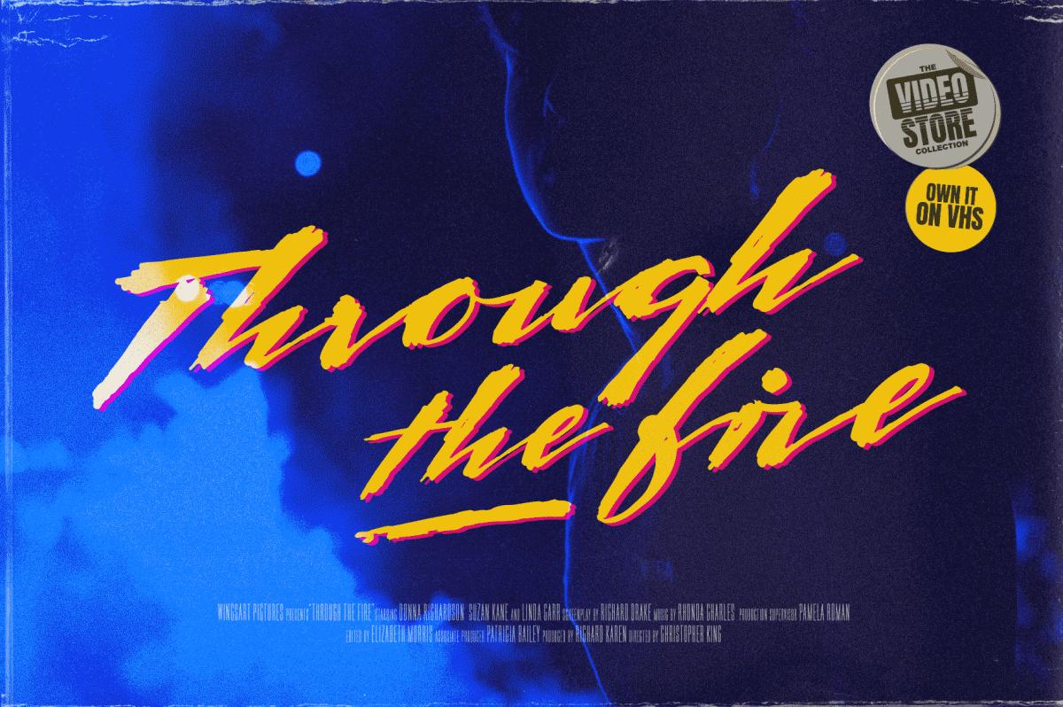 80s Inspired Script Font by Wingsart Studio