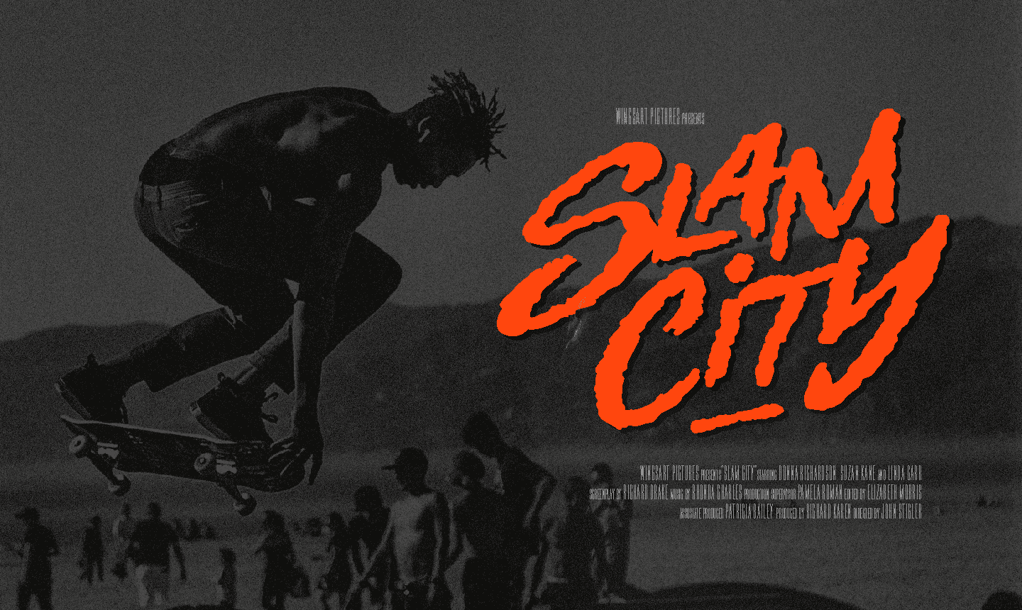 80s Movie Title Fonts by Christopher King