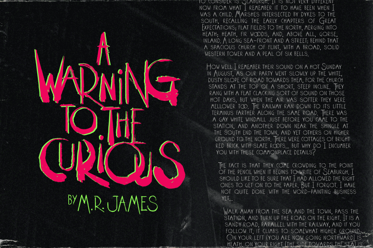 A warning for the Curious by M.R. James