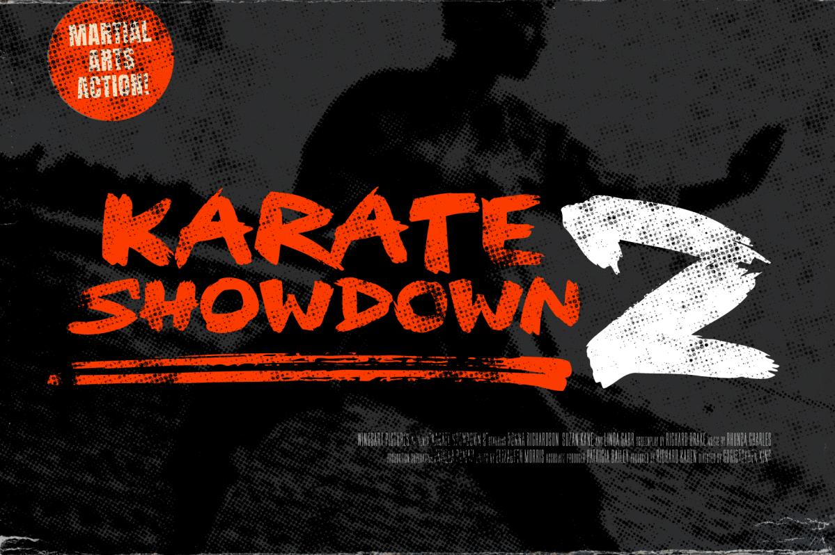 Karate Showdown 2 -Movie Title Design by Christopher King