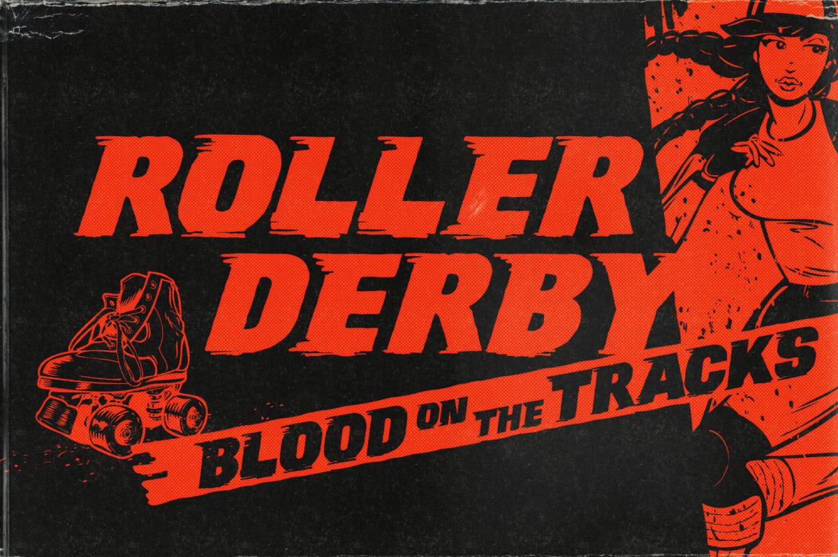 Roller Derby Font by Wingsart Studio