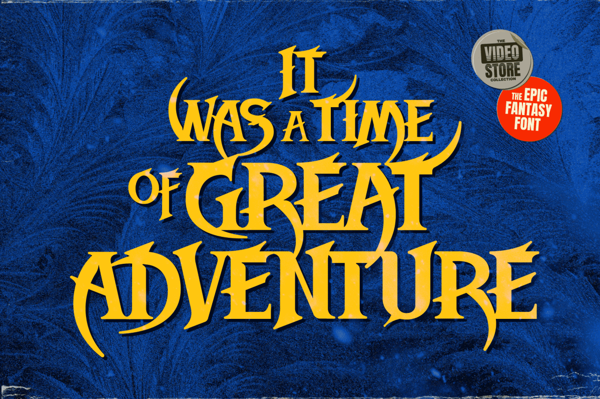 Fantasy and Adventure Fonts