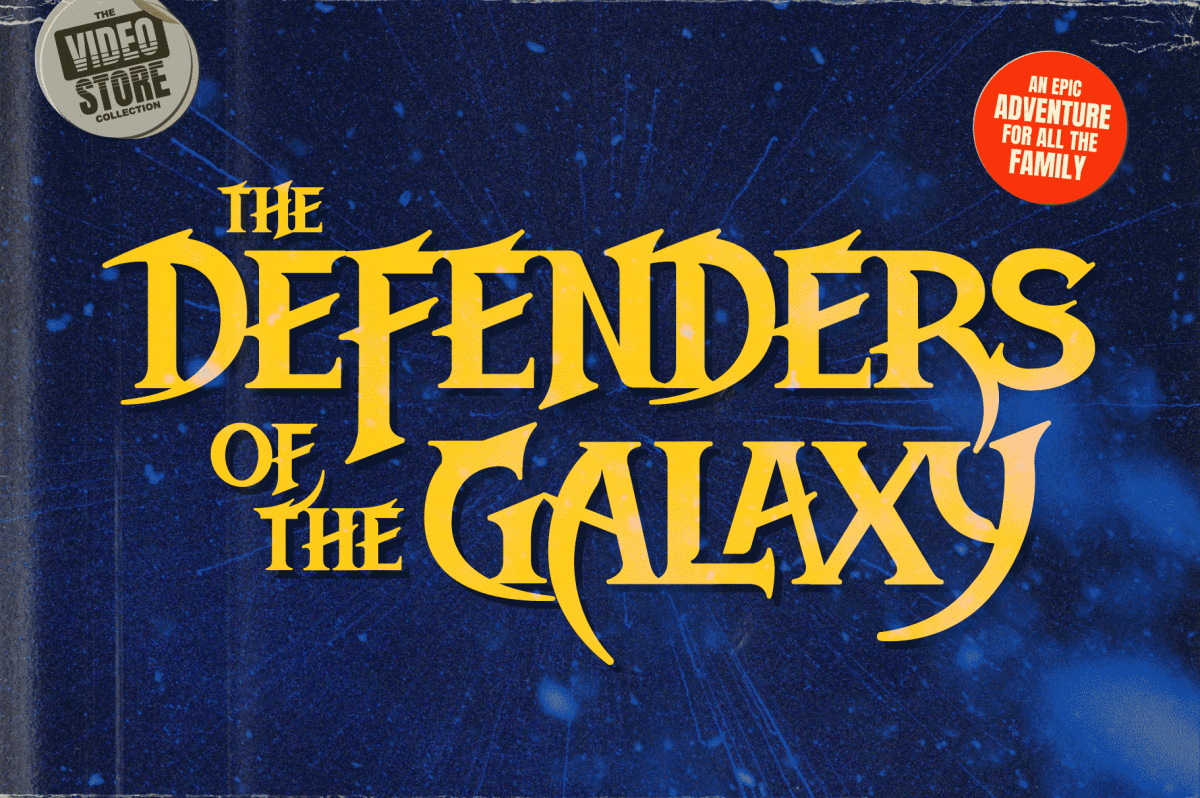 Defenders of the Earth style Fonts