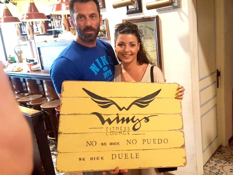 Antonio Rodríguez - Gimnasio Wings Fitness Valterna