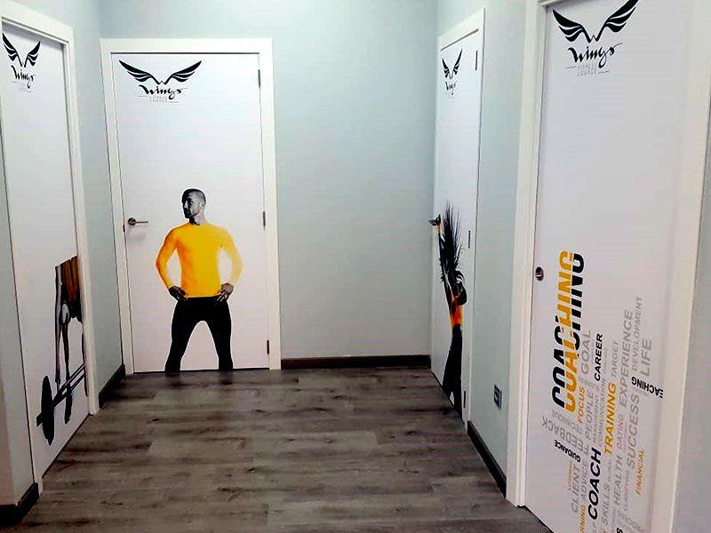 vestuarios - Gimnasio Wings Fitness Valterna