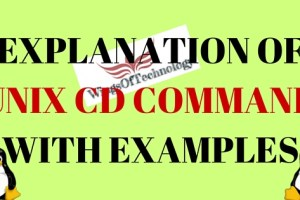 UNIX-CD-COMMAND-AND-EXAMPLES