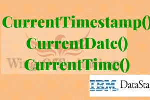 CurrentTimestamp-currentdate-currenttime-datastage