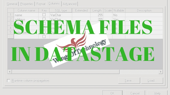 SCHEMA-FILES-IN-DATASTAGE