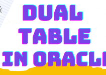 DUAL-TABLE-IN-ORACLE
