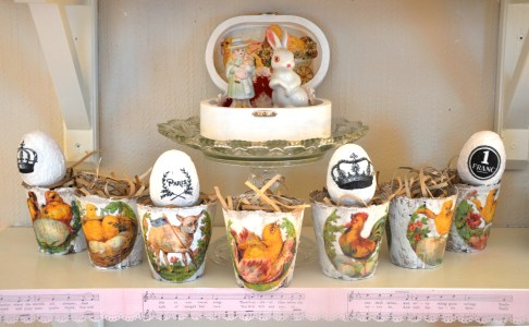 Wings of Whimsy: Easter Peat Pots - free for personal use #vintage #printable #scraps #ephemera #freebie #easter