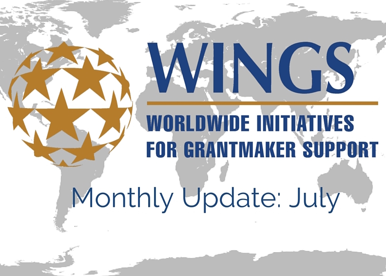 WINGS Network Monthly Update – July