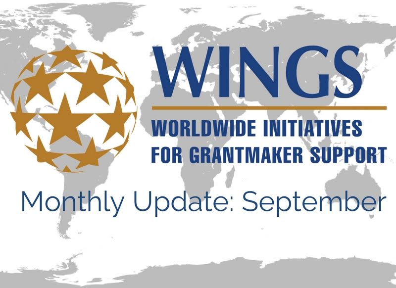 WINGS Network Monthly Update – September
