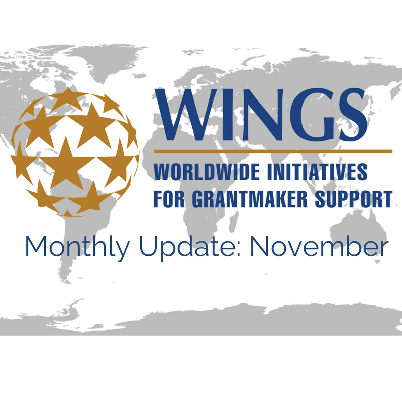 WINGS Network Monthly Update – November