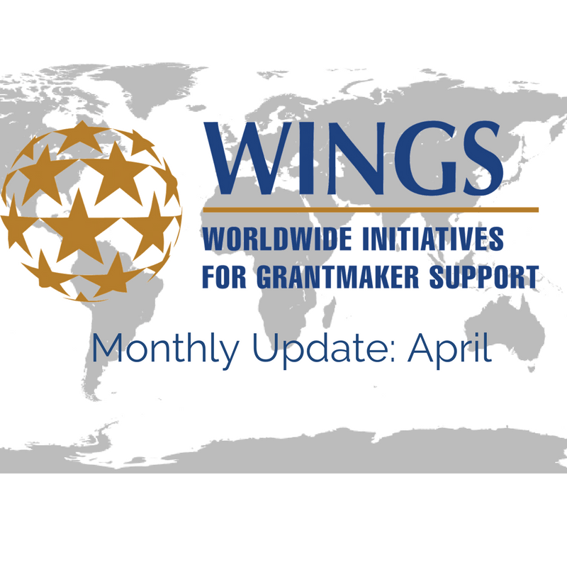 WINGS Network Monthly Update – April