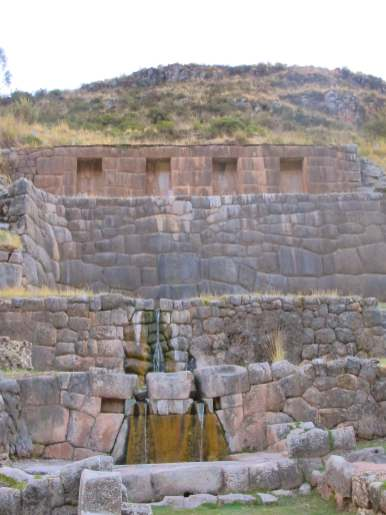Inca engineering on the outskirts of Cusco
