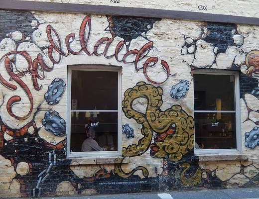 Radelaide street art