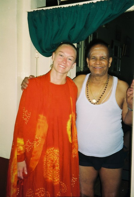 Wing Woman Adventures with Shri Pattabhi Jois, Mysore, India