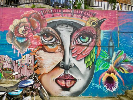 Colombian ghetto transforms into tourist drawcard