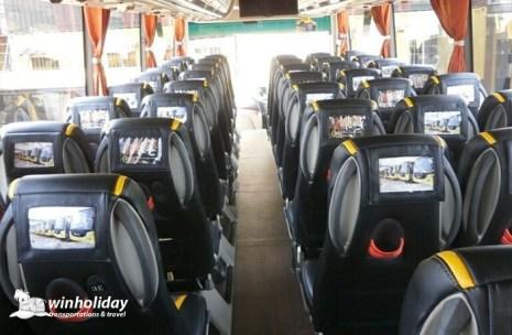 Interior Bus Besar Bee Buzz 59 seats New Series HDD 1