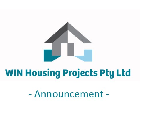 WIN Housing Projects announcement