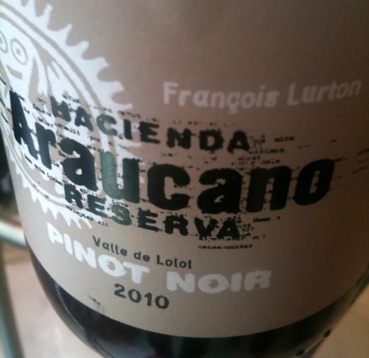 Vina Araucano Pinot Noir Reserve 2010