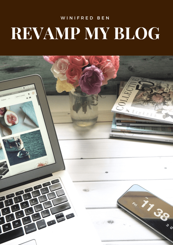 Revamp My Blog service by Winifred Ben