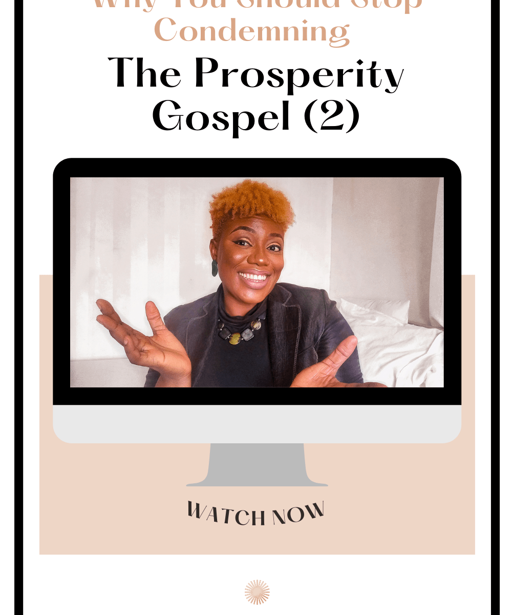 Why You Should Stop Condemning The Prosperity Gospel 2