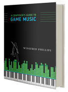 The cover of the MIT Press book, A Composer's Guide to Game Music, written by video game music composer Winifred Phillips.