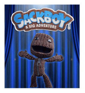 Depiction of the heroic main character of Sackboy: A Big Adventure, as included in the article3 by Winifred Phillips (BAFTA-nominated video game composer).