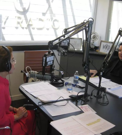 Winifred Rule discussing the spiritual dimension of psychopathy on WVOX - New York.
