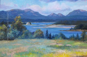 Cranberry island View by Wini Smart