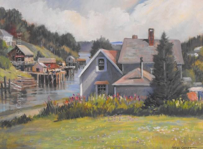 Frenchboro Harbor by Wini Smart