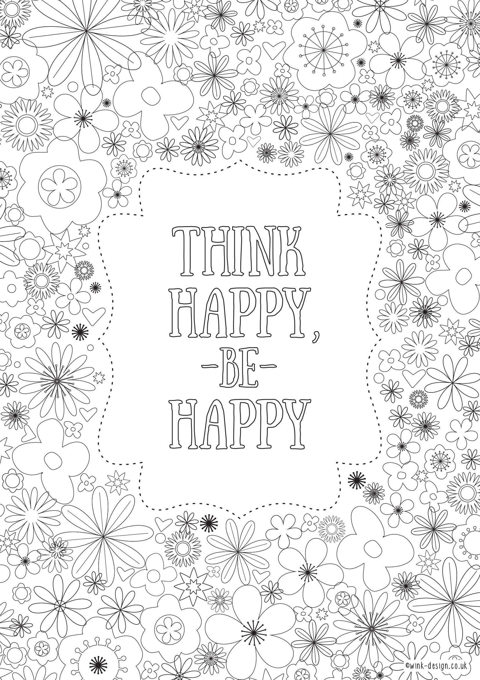 Free Printable Adult Colouring Pages Inspirational Quotes For