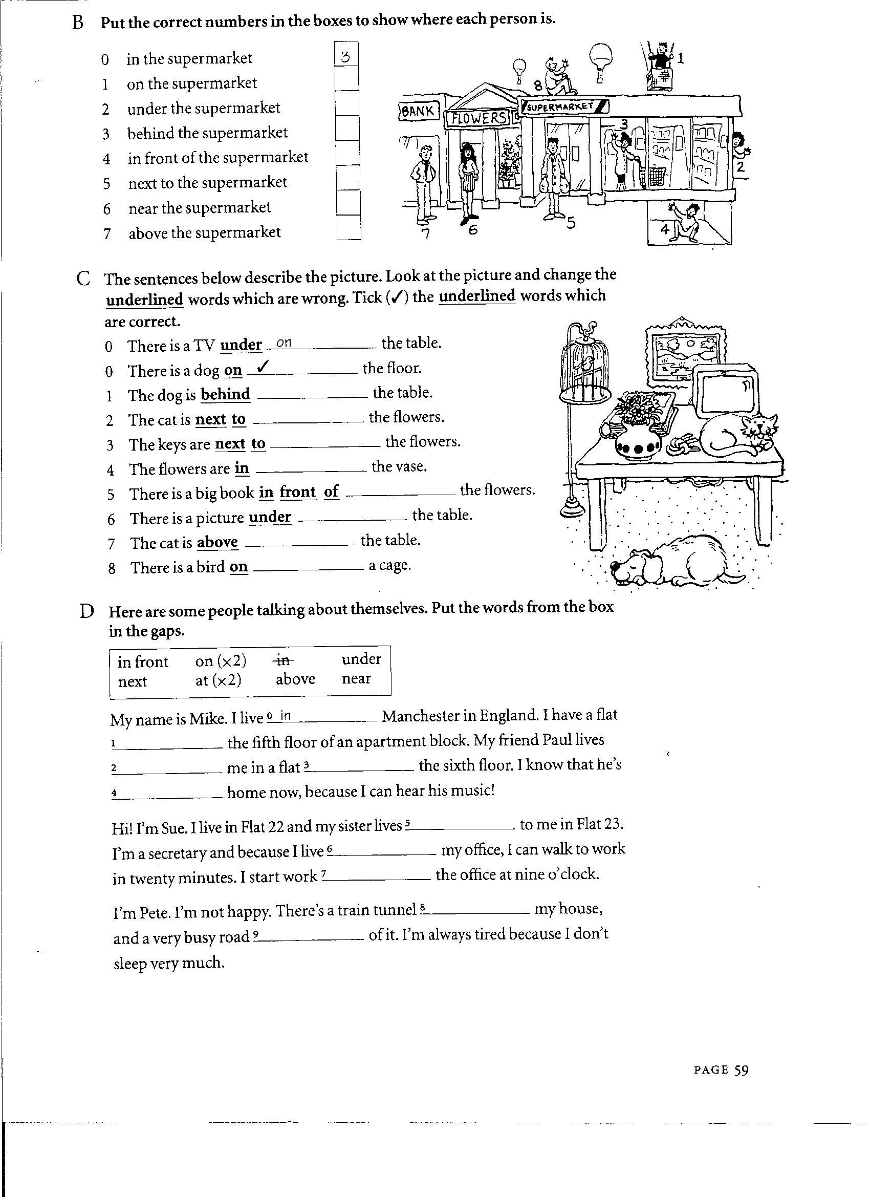 Adjectives Worksheet Doc