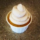 Olive Oil Lemon and Thyme Cupcake with Balsamic Whipped Cream Frosting