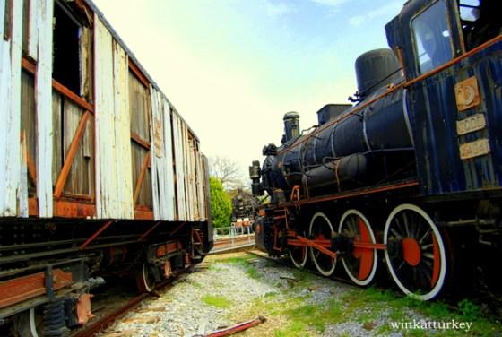 Locomotora y vagones