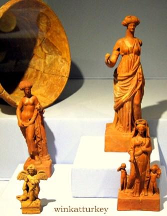 Grupo de figuritas del siglo I