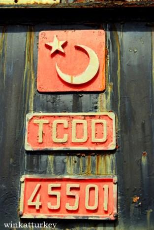 Indicativo numeral del tren en Turquía