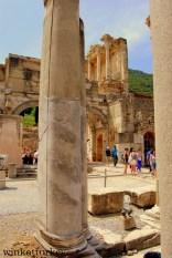 Biblioteca de Celso vista desde el Agora
