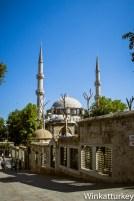 Mezquita de Eyüp desde la parte posterior